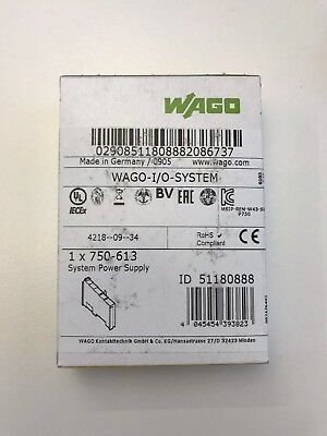 WAGO 750-613 (System Power Supply; 24 VDC)