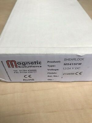 MS41SFM Shearlock New Boxed magnetic solutions