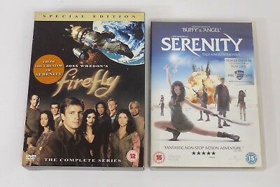 Firefly The Complete Series 4-Disc DVD Boxset & Serenity Firefly Movie