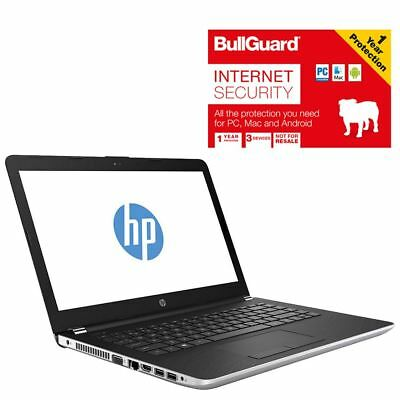 "HP 14-BS043NA Laptop 14"" Celeron 4GB 500GB HDD With BullGuard Internet Security"