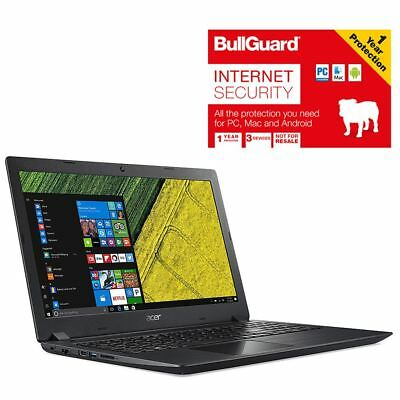 "Acer A315-31-C8R1 15.6"" Laptop Celeron 4GB 1TB With BullGuard Internet Security"