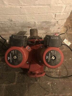 Grundfos Twin Head Pump UPSD 65-60/4F
