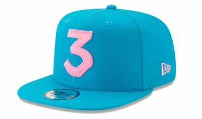 e085f5ba622b9 Chance the Rapper Hat Snapback Blue Pink Chance 3 New Era Official Authentic