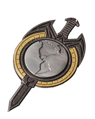 Mirror Terran Empire Uniform Abzeichen Badge Pin Magnet - Star Trek Replica ovp.