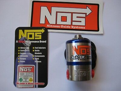 Must Have! *new Nos 18000 Cheater Nitrous Solenoid 250Hp Nx/zex/holley/edelbrock