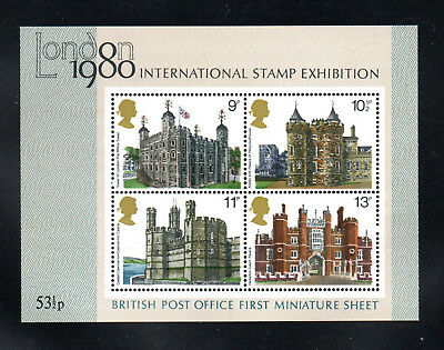 GB 1978 British Architecture Sheet. Mint MNH. One postage for multi buys.