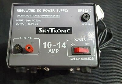 Skytronic Rps1210 Regulated Dc Power Supply (R2Trolley )