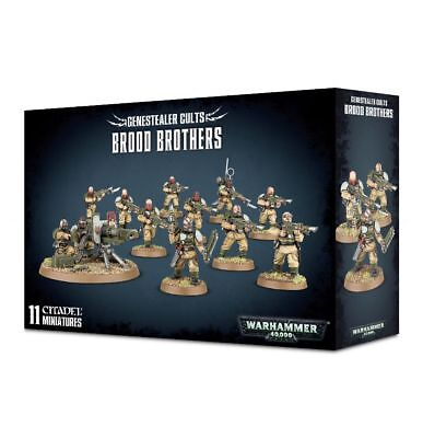 Genestealer Cults - Brood Brothers - FREE SHIPPING