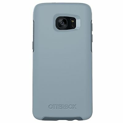 OtterBox SYMMETRY Samsung Galaxy S7 Edge Case Whetstone/Blue ULTRA SLIM