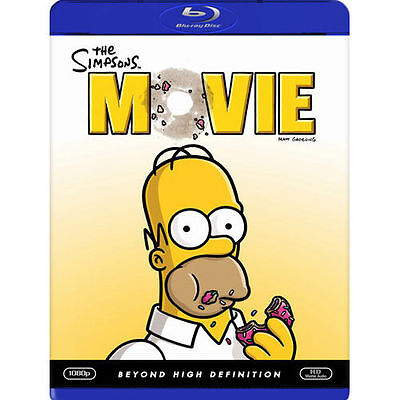 The Simpsons Movie [Blu-ray] New DVD! Ships Fast!
