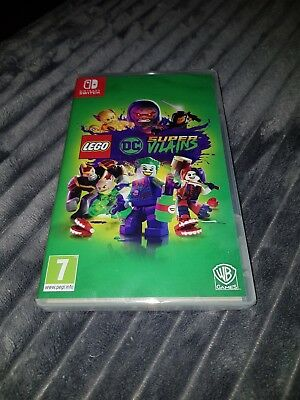 INT112 Nintendo SWITCH LEGO DC Super Vilains Version Française