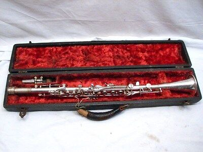 Vintage American Pitt Brand Professional Clarinet Musical Instrument w/Case