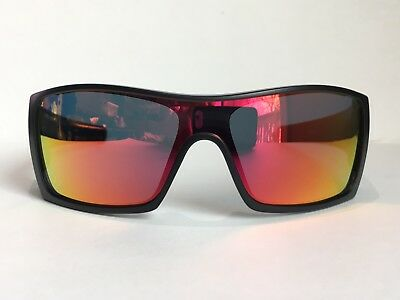 f1f5e43720 NEW  OAKLEY BATWOLF Black Matte frame with Grey lens Sunglass 9101 ...