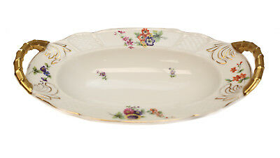 Rosenthal Bavaria Hand Painted Porcelain Double Handled Tray, circa 1930