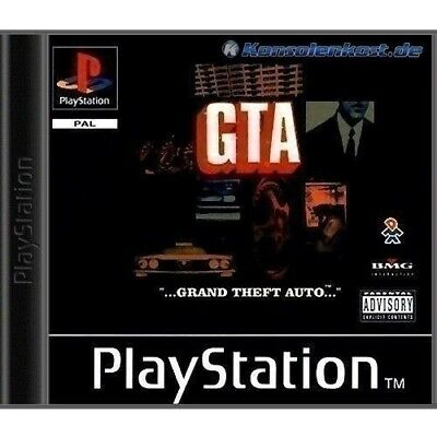 PS1 / Sony Playstation 1 Spiel - Grand Theft Auto / GTA mit OVP