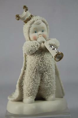 Dept 56 Snowdream Snowbabies 'Prince Of The Parade' W/Crown #4045621 New In Box