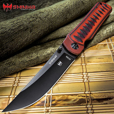 """8"""" SHINWA Assisted Opening Pocket Knife EDC NEW Stainless Steel Blade TACTICAL"""