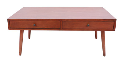 Mid Century Modern White Coffee Table 35000 Picclick