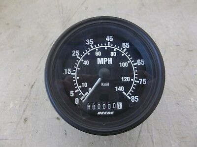 "Beede 3-1/2"" 12-Pin Speedometer #26007001 (12000154)"