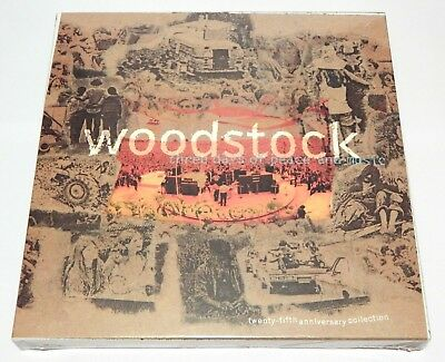 Woodstock: Three Days of Peace & Music [25th Anniversary] ~ NEW 4-CD Box Set