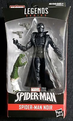 "Hasbro Marvel Legends SPIDER-MAN NOIR 6"" Figure Lizard BAF Piece Spiderman RARE"