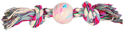 Trixie Denta Fun Playing Rope with Ball, 36 x 7 cm