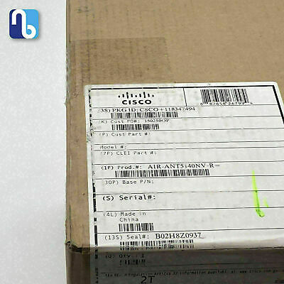 CISCO AIR-ANT5140NV-R 5 GHz 4 dBi 802.11n Omni wall mount ante