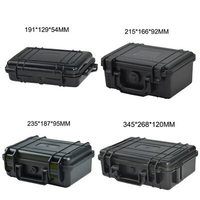 ABS Plastic Waterproof Dry Box Casket Safety Equipment tool Camera Case Sealed
