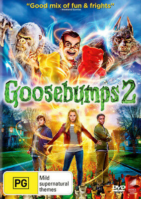 Goosebumps 2  - DVD - NEW Region 2, 4