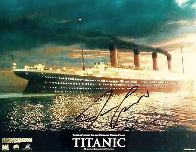 James Cameron Authentic Signed Titanic 10X8 Photo Aftal#198