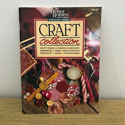 1989 Better Homes  & Gardens Craft Collection Magazine. Homemaker Library.