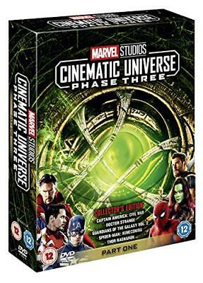 Marvel Studios Collectors Edition Box Set - Phase 3 Part 1 [DVD] [2018]