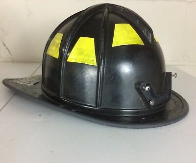 Morning Pride BF2 Black Fire Firefighter Helmet HT-BF2-HDO 2009