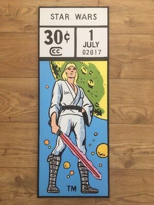 Star Wars Marvel Comic corner box painting on canvas 80 x 30cm Skywalker Solo