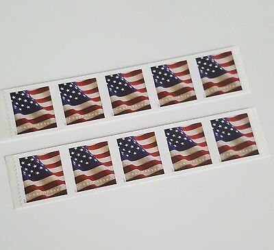 10 USPS Forever Stamps Star Spangled Banner Flag