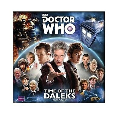 Doctor Who: Time of the Daleks Boardgame