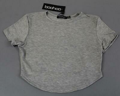 5371330f ... Oversized Boyfriend V Neck T-Shirt KB8 Gray Marl Size M/L.