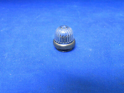 Lc16Cn3 Dialight Clear Plastic Lens Light  Drip Proof W/ Gasket   New Old Stock