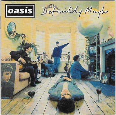 Oasis - Definitely Maybe (CD 2005) Live Forever, Cigarettes & Alcohol