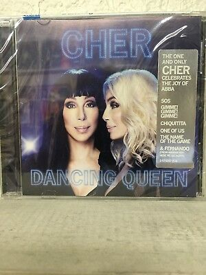 Cher - Dancing Queen CD 2018 - Song List Below - Brand New!