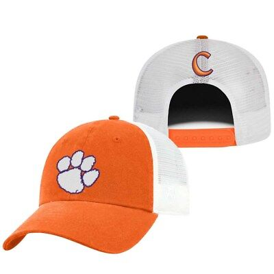 bcf010cec CLEMSON TIGERS NCAA Relaxed Game Bar Adjustable Strap Hat Cap ...