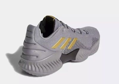 sale retailer d847f ecd37 ADIDAS PRO BOUNCE LOW 2018 AH2683 - Mens GreyGold Basketball Shoes c1