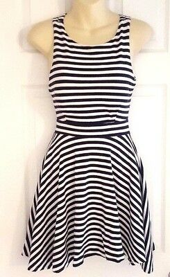 b262e2e946c26 Lark and Wolff Anthropologie Womens Dress Size Small Fit Flare Criss Cross  Back