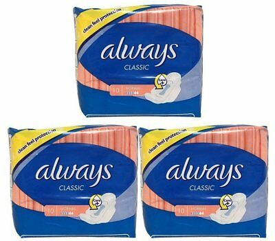 ALWAYS MAXI OVERNIGHT EXTRA HEAVY FLOW W/WINGS 20ct (3 PACK)