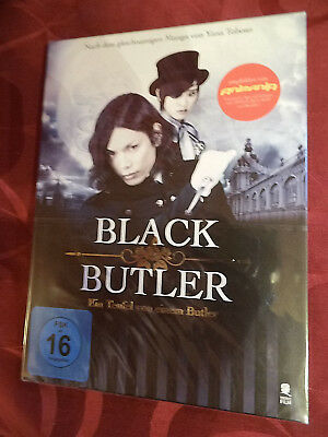 Black Butler - SE Blu-Ray DVD und Booklet - NEU in Folie - Manga Anime Realfilm