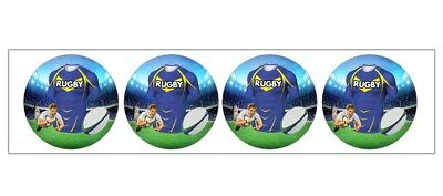 Rugby Stickers Party Bags Fillers Boys Girls Leeds Rhinos Team Colours