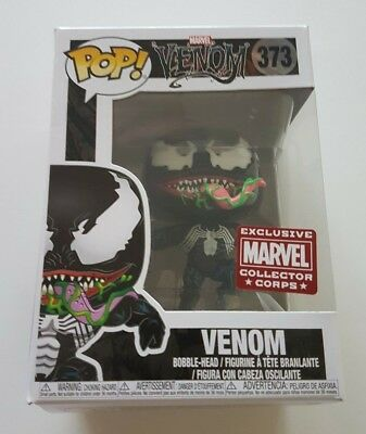 Funko Pop Marvel 373 Venom Leaping Marvel Collector Corps Exclusive