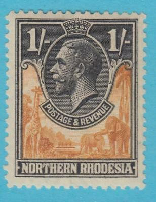Northern Rhodesia 10  Mint Hinged Og *  No Faults Very Fine !