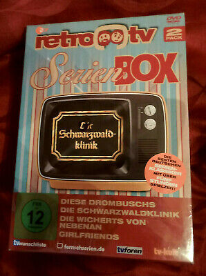 Retro TV Serien Box - Drombuschs Schwarzwaldklinik Wicherts Girlfriends - NEU -