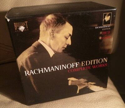 Rachmaninov Edition COMPLETE WORKS 29CD BOX MINT LIKE NEW RARE OUT OF PRINT